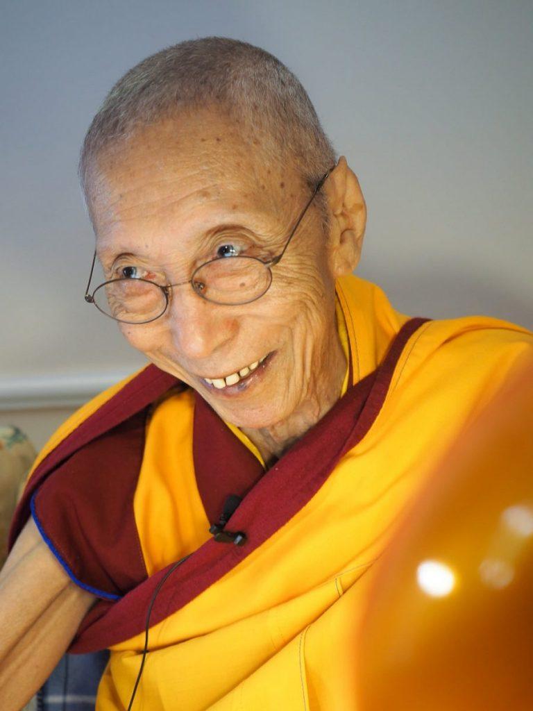 Venerable Gueshe Kelsang Gyatso Rimpoché