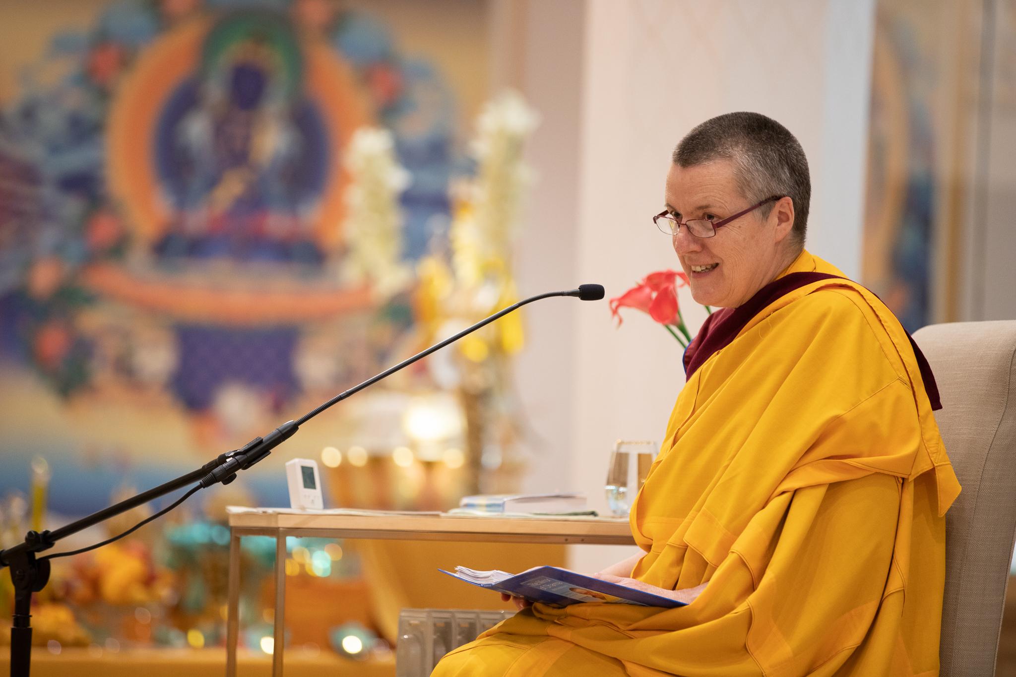 Gen-la Kelsang Dekyong ~ allgemeine spirituelle Direktorin der NKT-IKBU