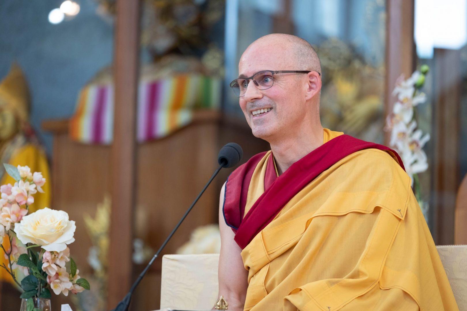 Gen-la Kelsang Jampa, Deputy Spiritual Director of NKT-IKBU